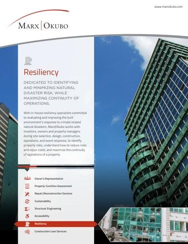 Resiliency brochure