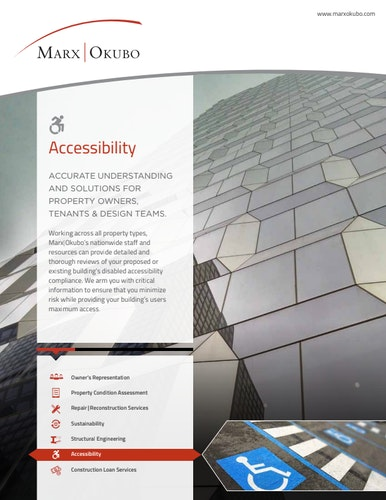 Accessibility brochure