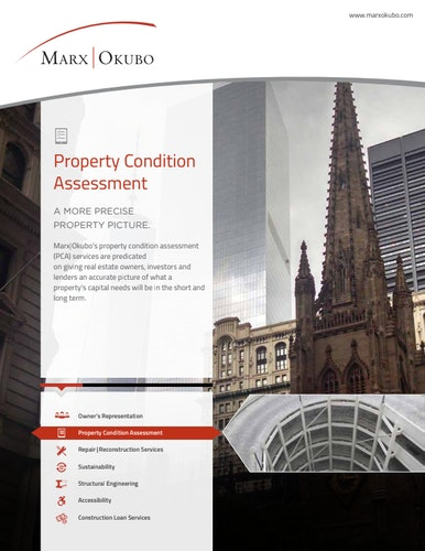 Property Condition Assessment brochure