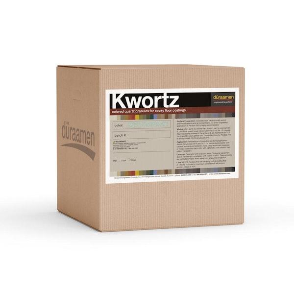 Decorative Kwortz graded quartz filler for resinous flooring