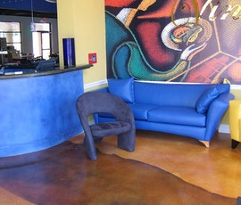 Cafe, Lobby, Lounge