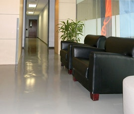 Another lobby that chose Duraamen resinous flooring products. (thumbnail)
