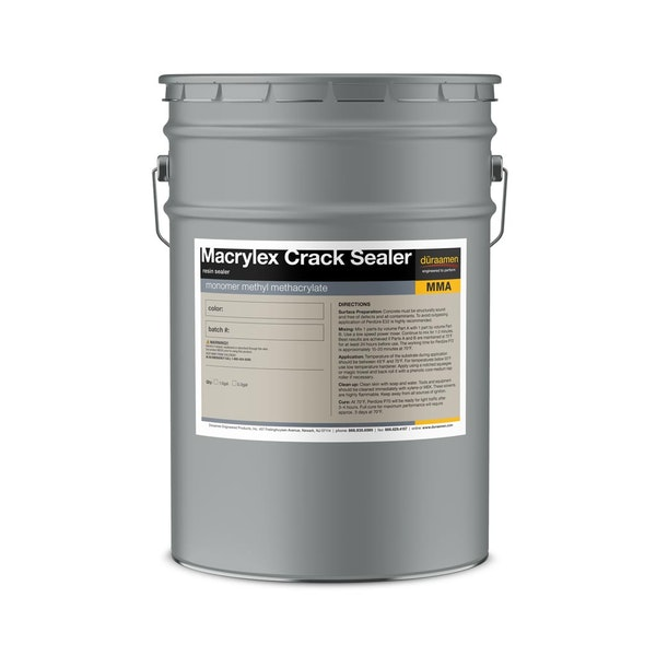 Macrylex Crack Sealer methyl methacrylate resin sealer