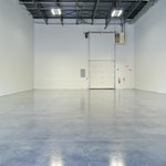Professional grade concrete floor coatings for warehouses. Duraamen's warehouse in Cranbury NJ.