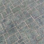 Ashlar Tile Concrete Stencil ex. 1