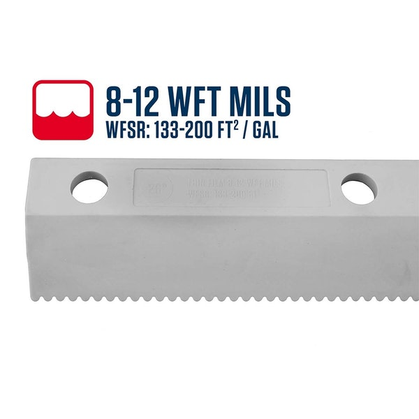 "18"" Easy Squeegee™ 8-12 WFT Mils Blade"