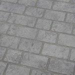 Roman Paver Concrete Stencil ex. 1