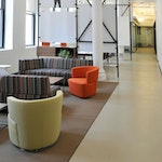 Concrete Floors Over Plywood: Weight Watchers Office Space in NYC ex. 4