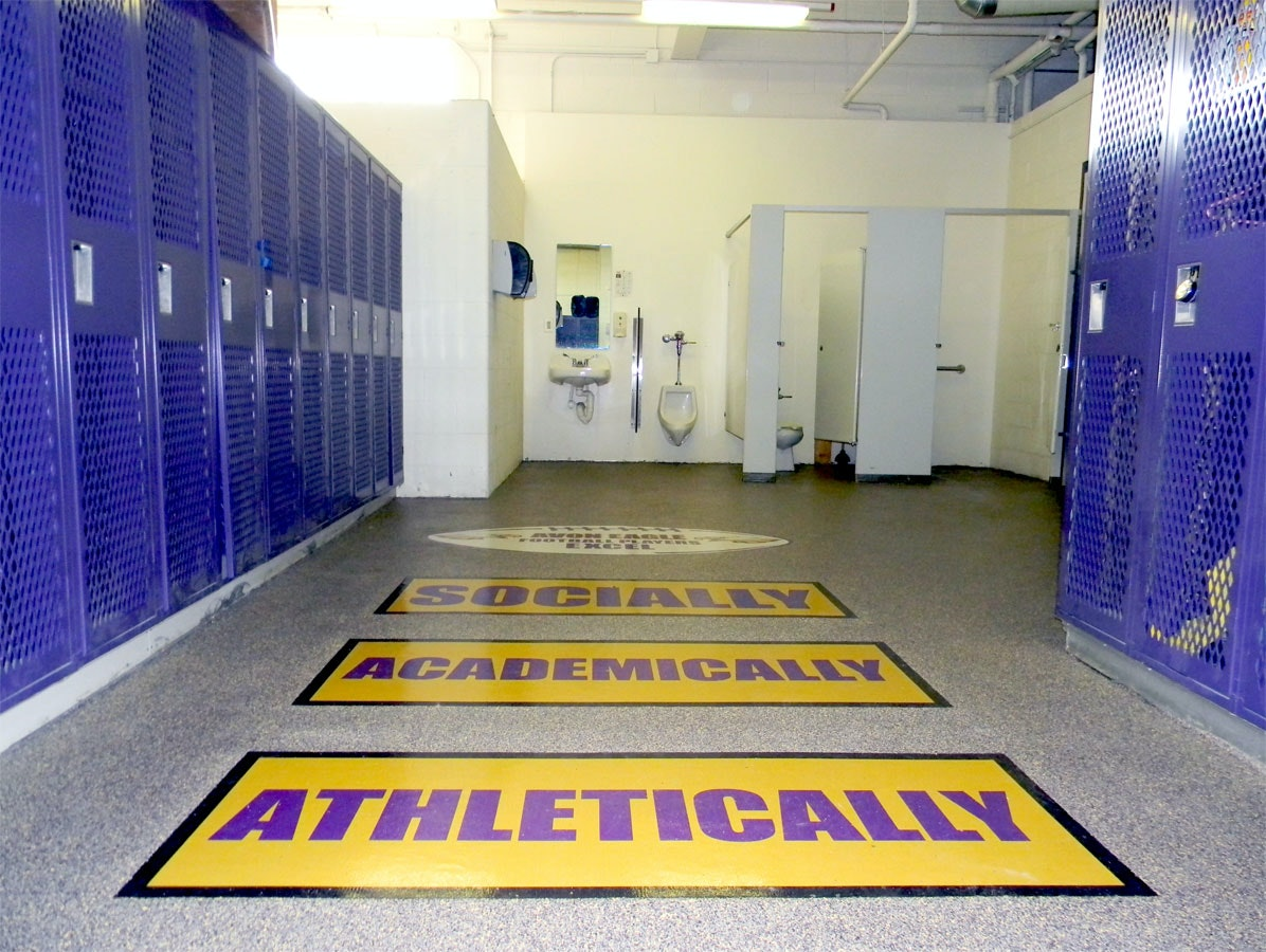 avon eagles football locker room duraamen rh duraamen com