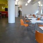 Concrete Flooring: a Stylish Investment for Global Creative Agency. ex. 5
