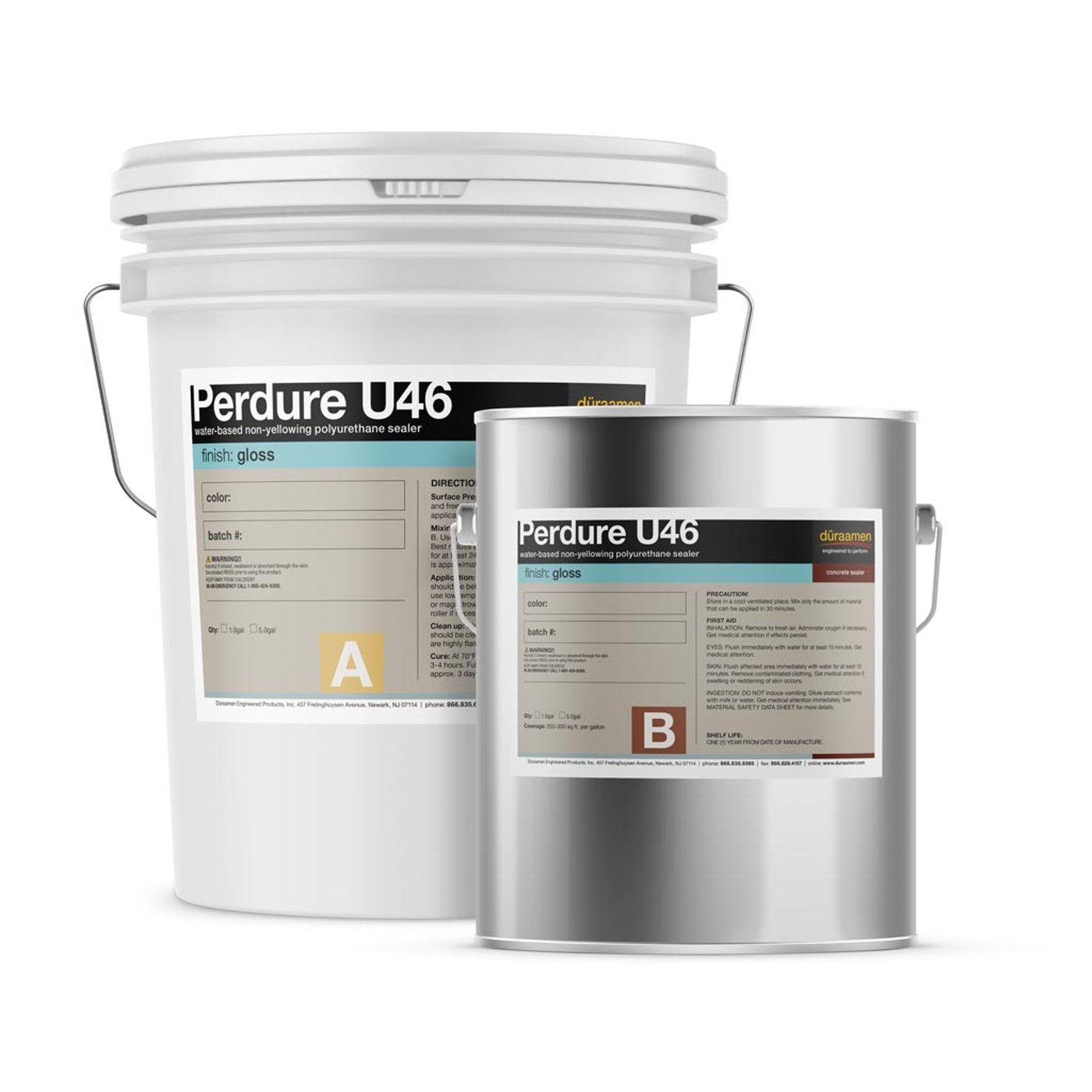 Water Based Aliphatic Polyurethane Topcoat Gloss Finish