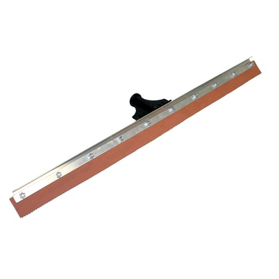 "24"" Speed Squeegee, Red Rubber"