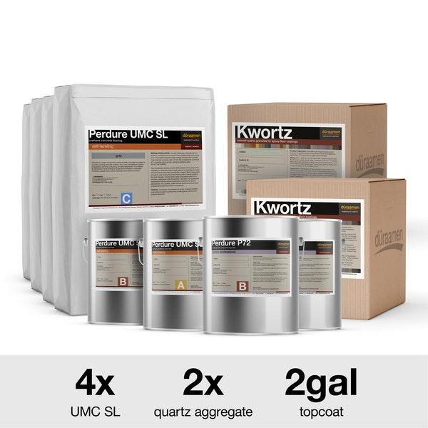 Decorative Quartz Urethane Concrete Kits
