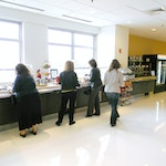 Self-leveling Epoxy Concrete Flooring: Cafeteria in New Balance's HQ. ex. 8