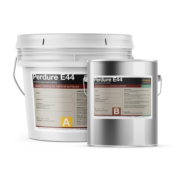 Perdure E44 seamless epoxy wall coating