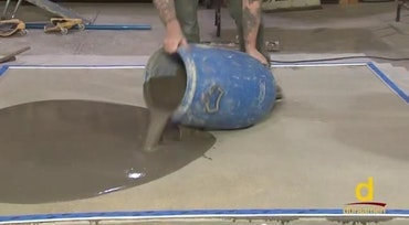 Polishing Self-leveling Concrete Flooring 3