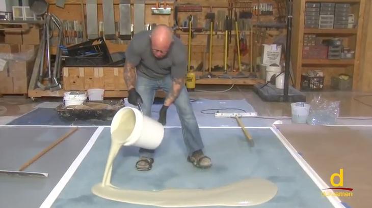 Installing an Urethane Slurry Mortar System