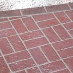 Edge Brick Header Concrete Stencil ex. 1