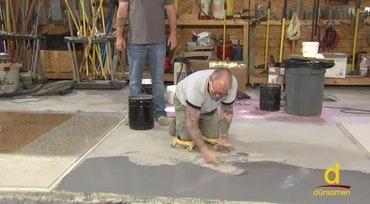Installing Concrete Overlays 2