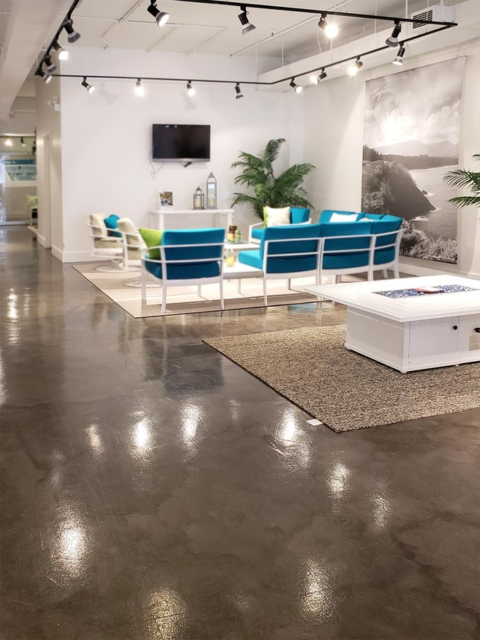 Microtopping Floors in Retail Furniture Stores ex. 3