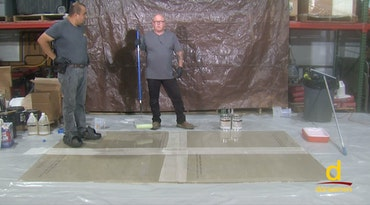 How to install Self-Leveling Epoxy over Plywood or Cement Board