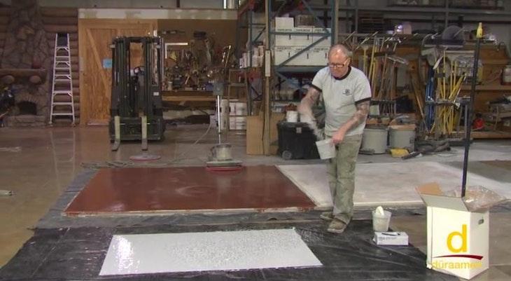 Installing A Resin Chip Flooring System Endura Duraamen