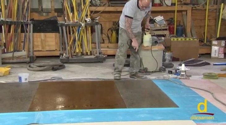 How To Polish Self Leveling Concrete Overlay
