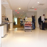 Self-leveling Epoxy Concrete Flooring: Cafeteria in New Balance's HQ. ex. 2