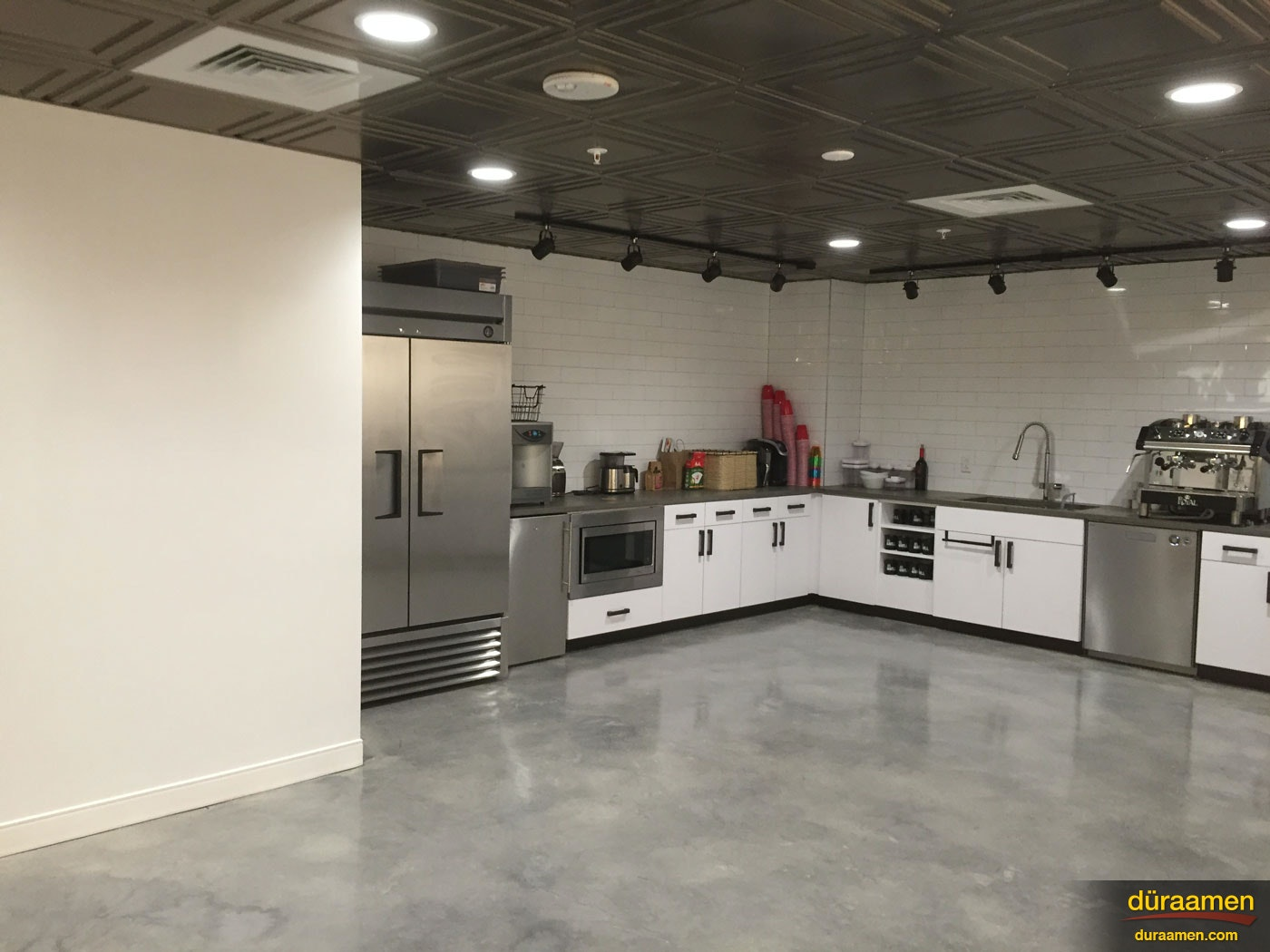 Polished Concrete Floors In Shared Work Space Wilmington De
