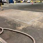 Bactoclean microbial hydrocarbon cleaner from duraamen. Used to clean oil and grease on concrete floors. Used in garages, auto mechanic shops, and the like. Photo 3