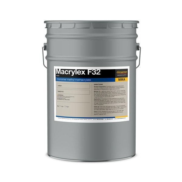 Macrylex F32 methyl methacrylate resin