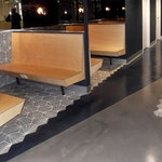 Polished Concrete Floor: Broken Rice Modern Pan-Asian Restaurant ex. 8