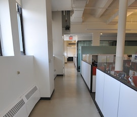 Here is the area outside of the cubicles at Weight Watchers Headquarters in NYC. (thumbnail)
