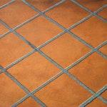 Medium Tile Concrete Stencil ex. 1