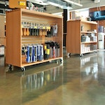 Metallic Epoxy Flooring: A Great Option for Retail Stores — Wüsthof Outlet ex. 2