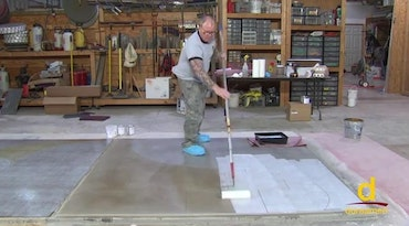 Installing Self-leveling Concrete (Param 5500)