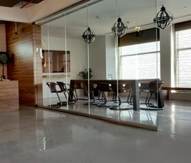 The offices of JWT Dubai, and the flooring is enough to impress any client. (thumbnail)