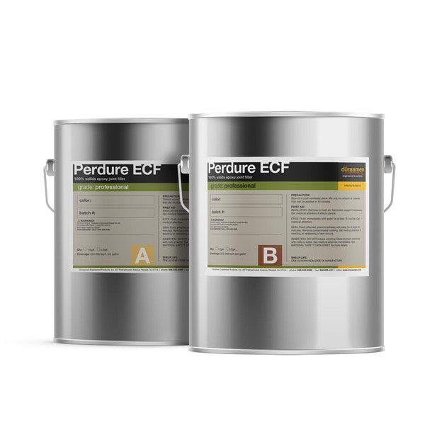 Perdure ECF 100% solids epoxy crack filler
