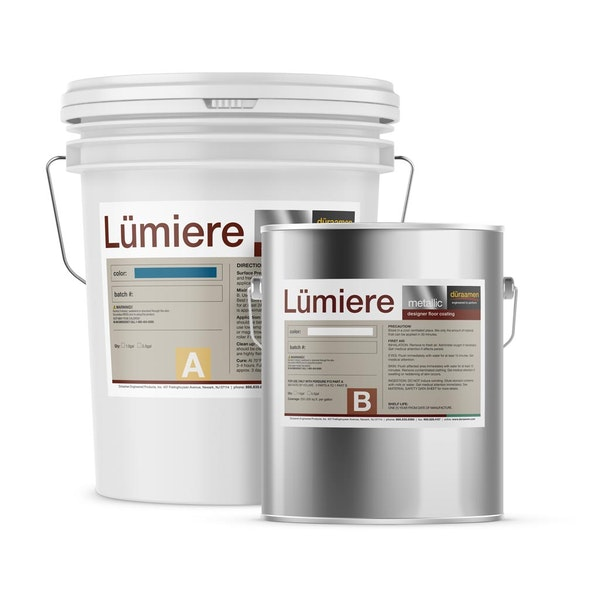 Lumiere Reflector Metallic epoxy flooring system