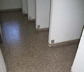 Endura garage floor epoxy coating is used in the corridors as well. (thumbnail)