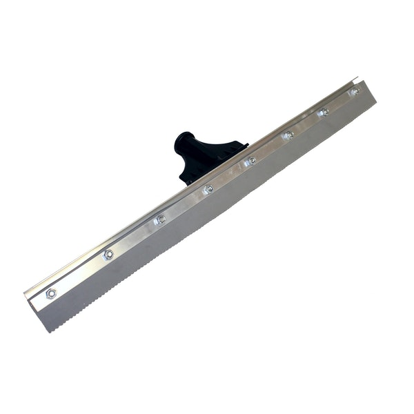 "24"" Speed Squeegee 24"", 1/8"" Notch, Gray EPDM"