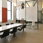 Concrete Floors Over Plywood: Weight Watchers Office Space in NYC ex. 1