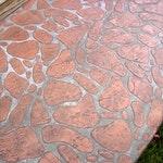 Riverstone Concrete Stencil ex. 1