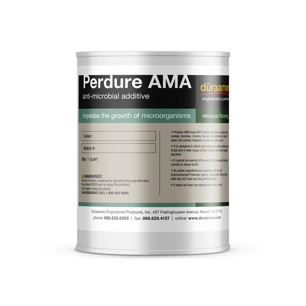 Perdure AMA  Anti-microbial Additive for Resinous Flooring Systems