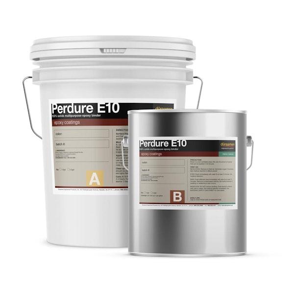 Perdure E10 100% solids multipurpose epoxy binder/sealer / body coat