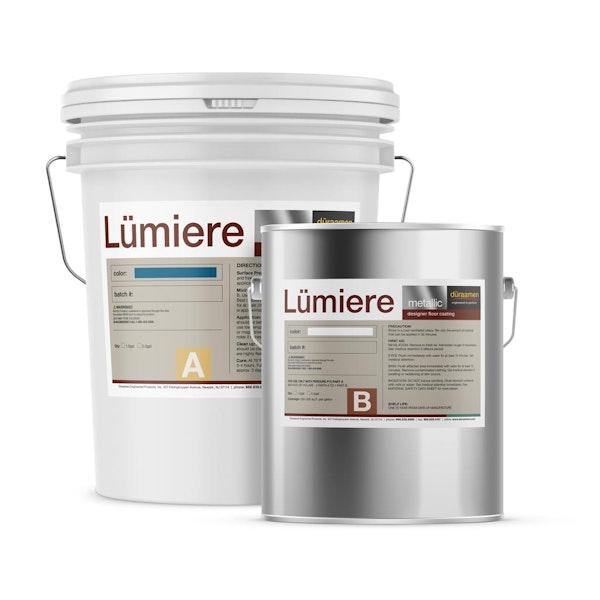 Lumiere Reflector Metallic epoxy flooring system