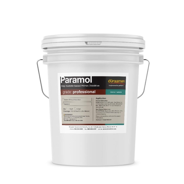 Paramol Primer for self-leveling concrete toppings and underlayments