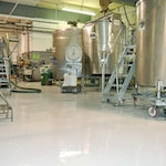 Epoxy Floor Coatings: Protecting the Concrete Floor in a Factory. ex. 1