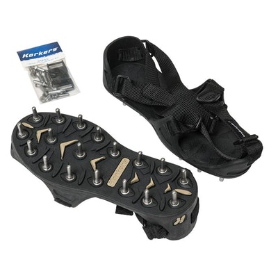 Korkers TuffTrax Bed Spiked Shoes