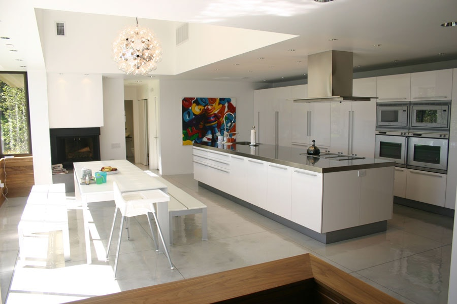 Another view of the residential kitchen and